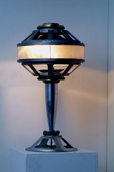 Sudhu Tewari: Speaker Lamps